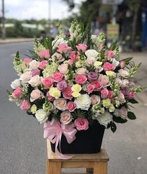 Lẵng hoa